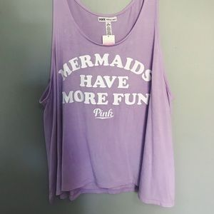 Tops - 'Mermaids Have amore Fun' Tank from PINK